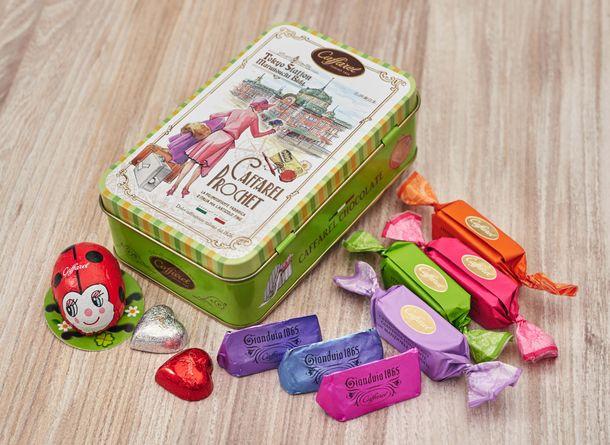 カファレル東京駅グランスタ店 東京駅105周年チョコレート